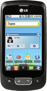 LG P500 Optimus One Black
