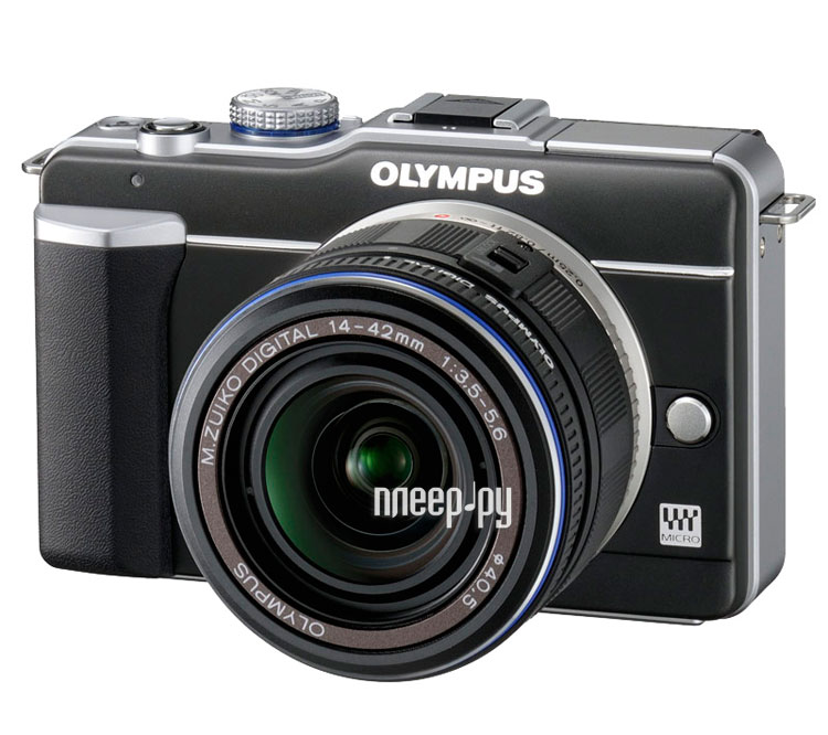 Olympus PEN E-PL1 Kit 14-42 mm Black-Black   ― 71i.ru